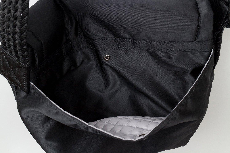 バルコニー メッセンジャーバッグ サイズS 黒画像その2