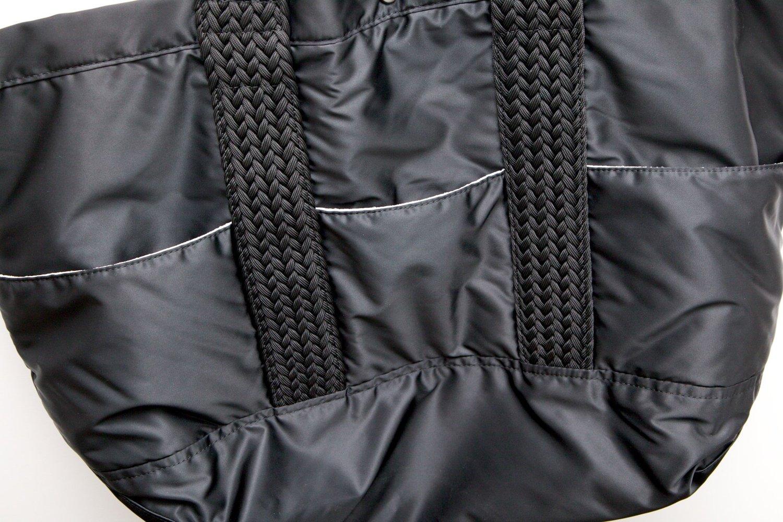 バルコニー トートバッグ ラージサイズ(XL) ブラック画像その4