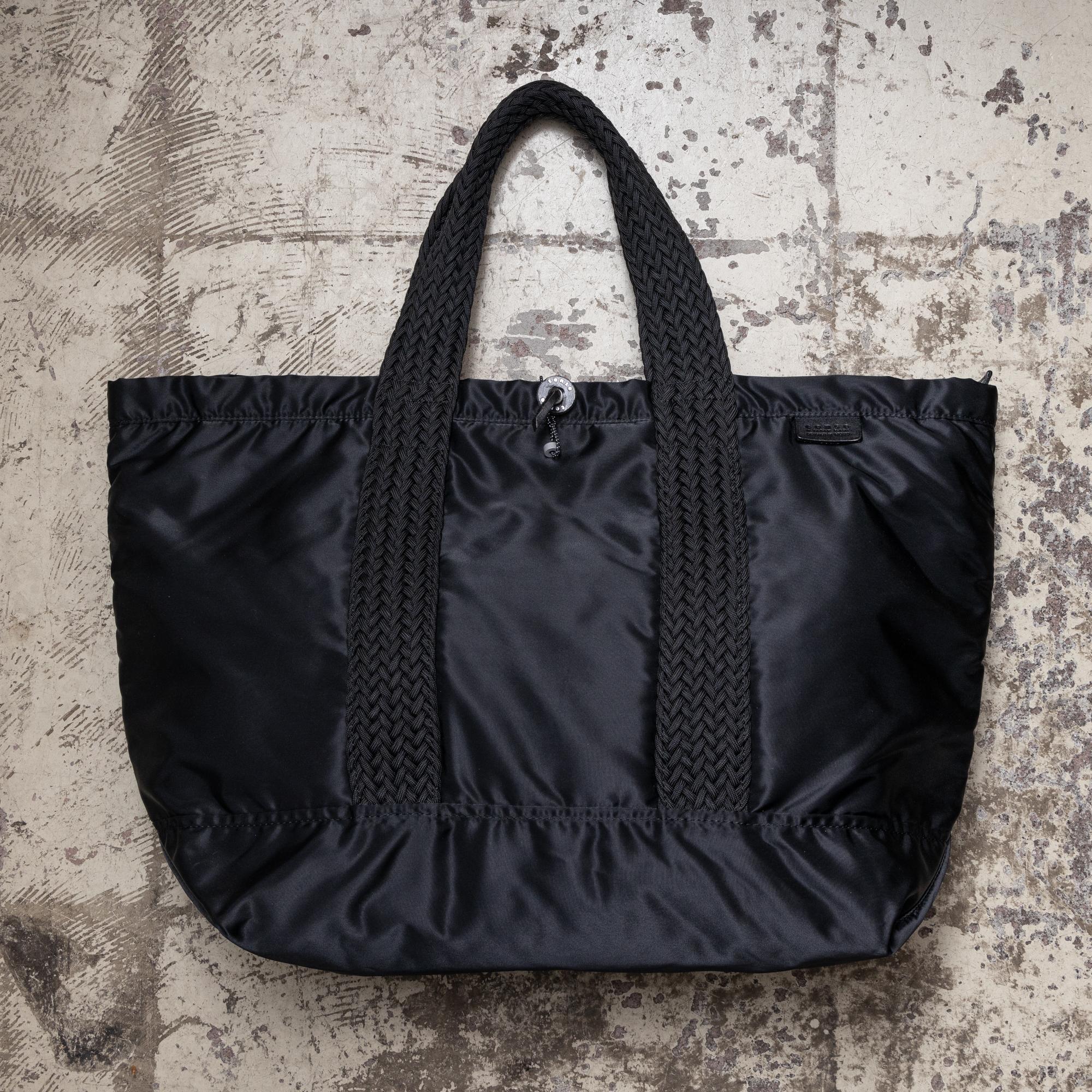 BALCONY TOTE-XL BLACK