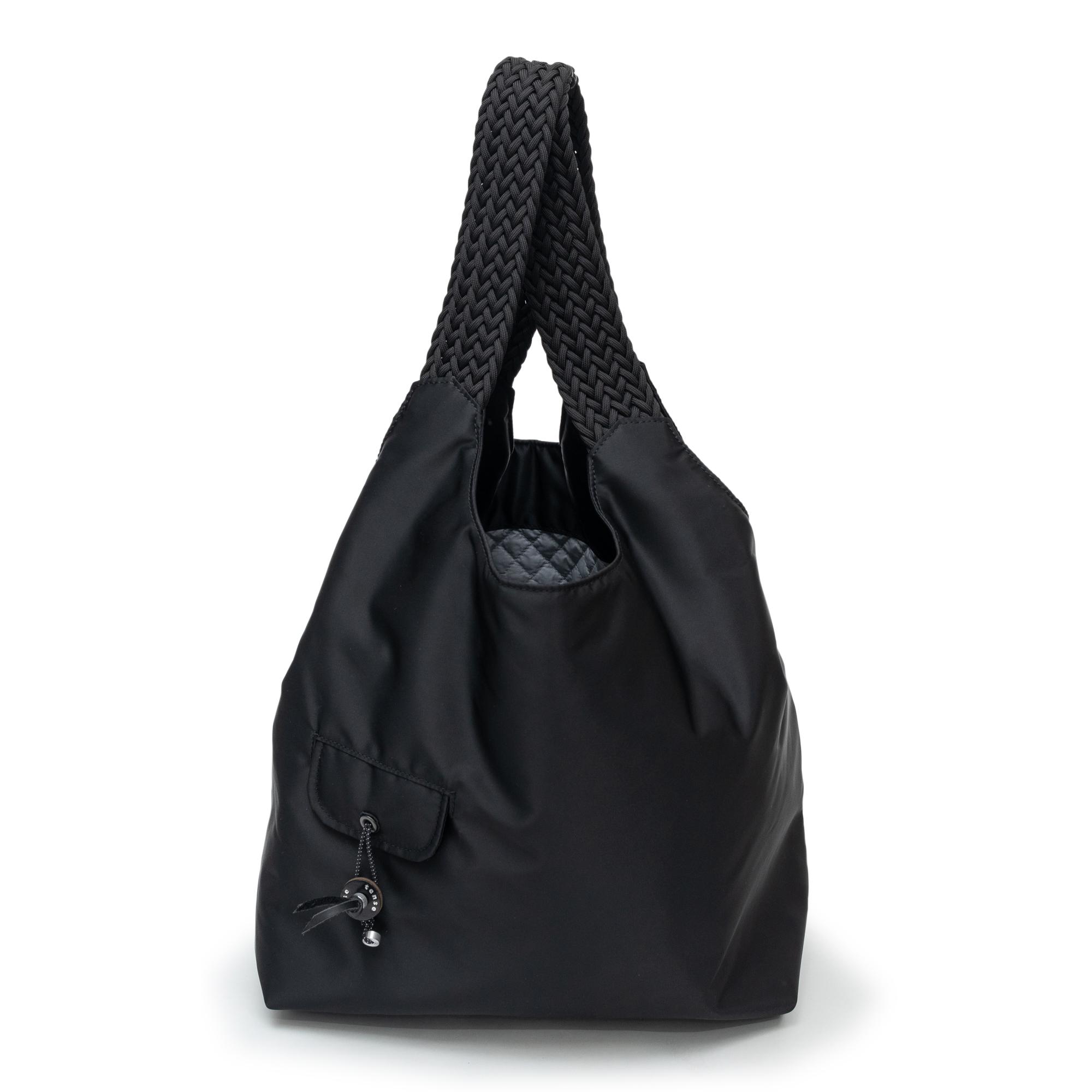 BALCONY MARKET-BAG-L BLACK