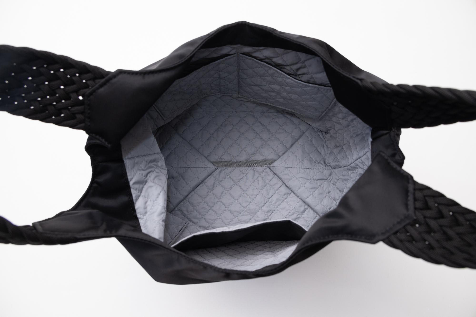 バルコニー マーケットバッグーS ブラック画像その3