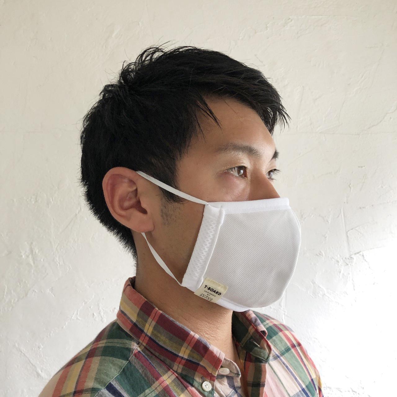 T-BOARD ORIGINAL 洗濯できるマスク。画像その4
