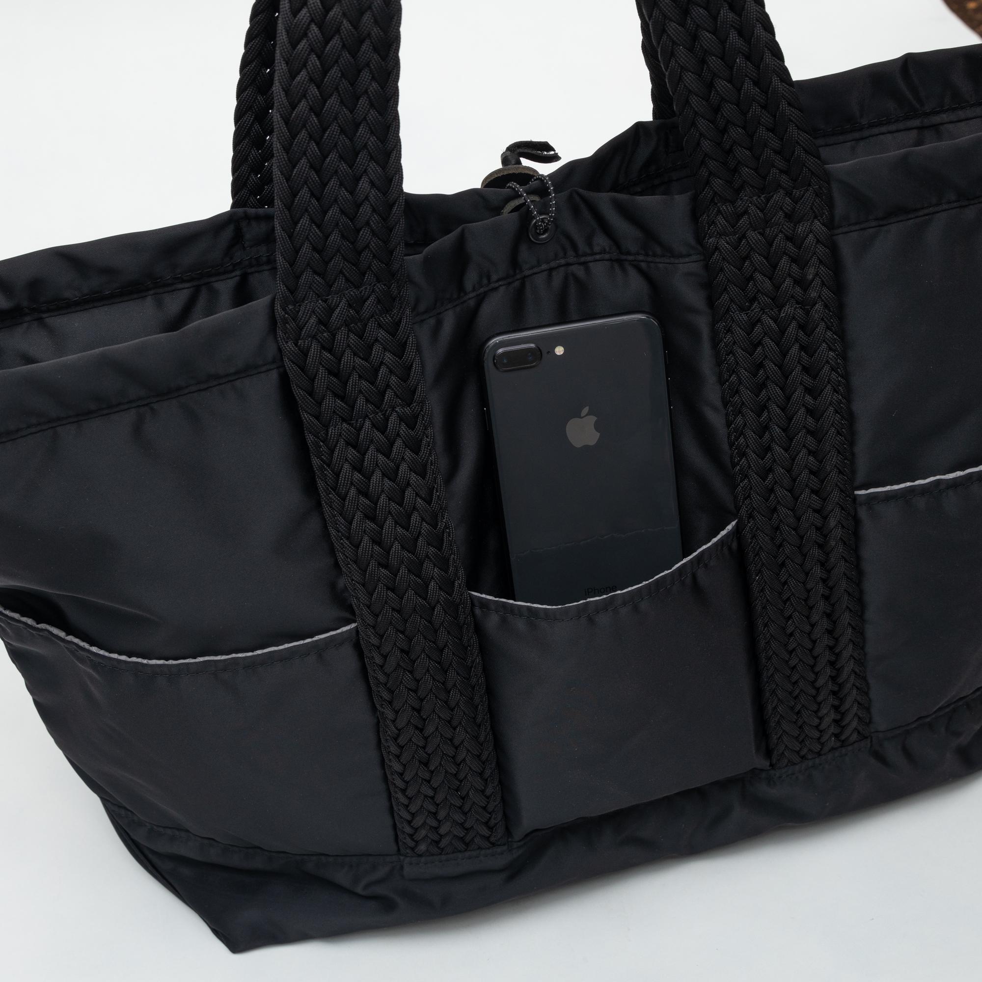 バルコニー トートバッグ -XL ブラック画像その6