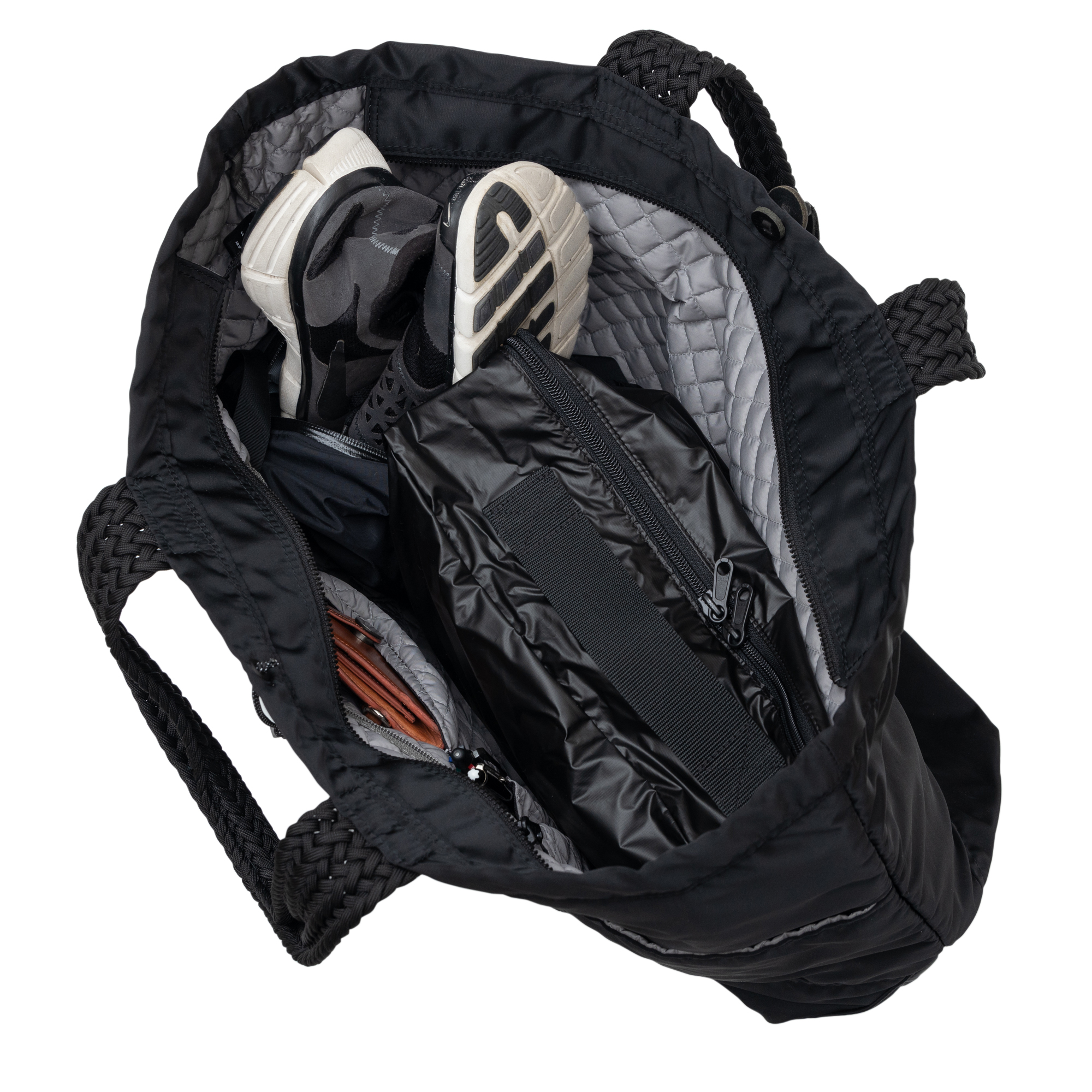 バルコニー トートバッグ -XL ブラック画像その5
