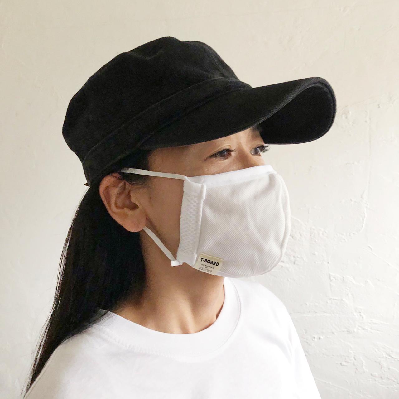 T-BOARD ORIGINAL 洗濯できるマスク。画像その2